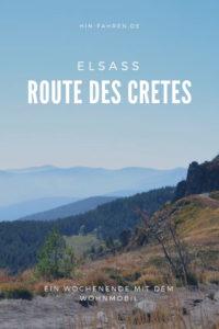 Reisetipp Elsass: Wochenende auf der Route des Cretes in den Vogesen. Tolle Aussichten, Spuren Erster Weltkrieg, wandern und genießen #Wohnmobil #Frankreich #Camping