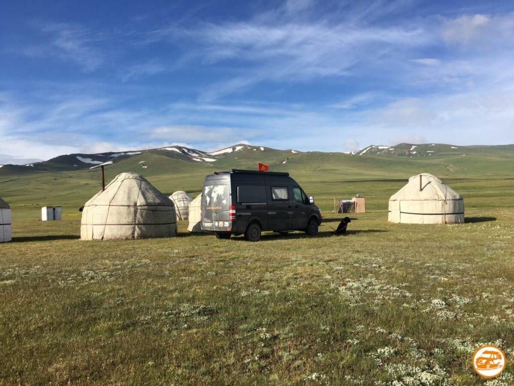 Kastenwagen von CS in Kirgistan