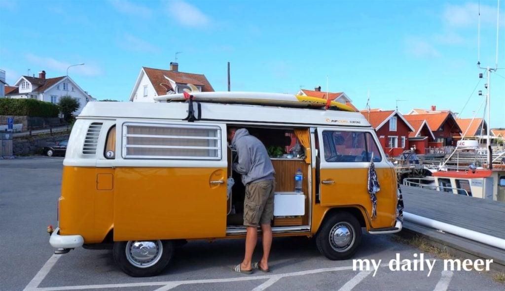 Vanlife mit VW Bus: Mit dem Campingbus in Schweden