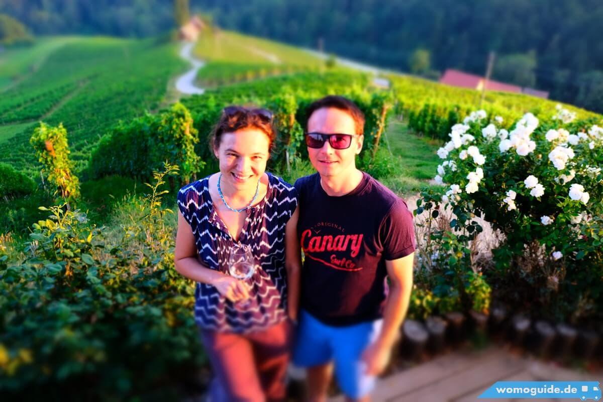 Die Kastenwagenfahrer von Womoguide Gerfried und Olya