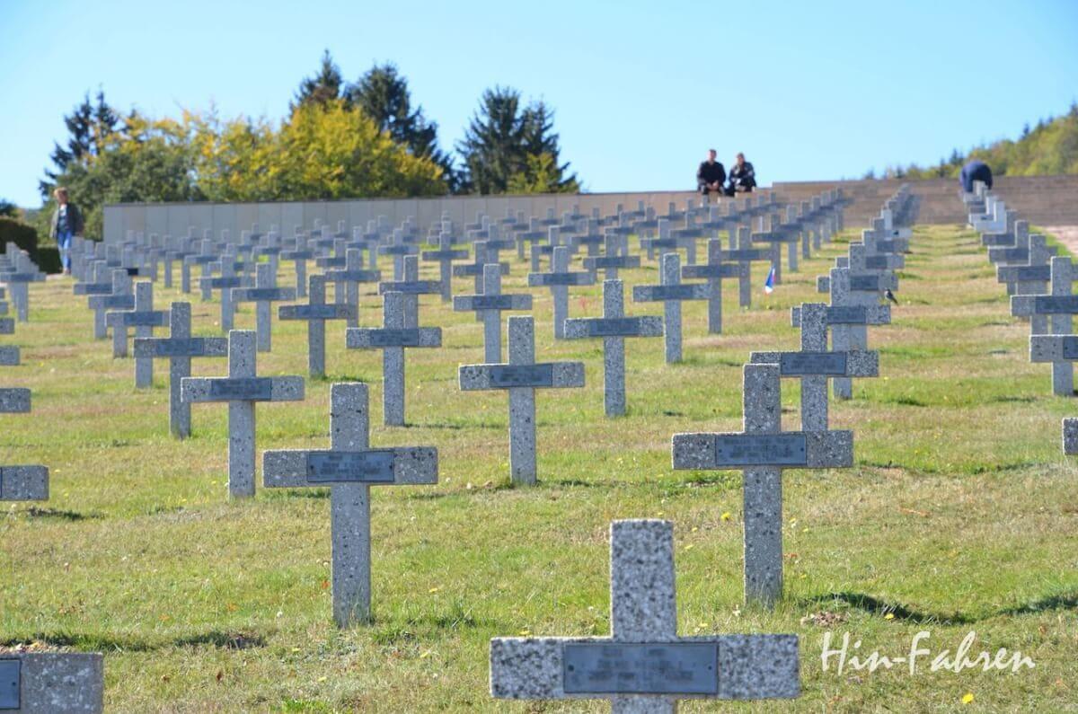 Friedhof der hier umgekommenen Soldaten