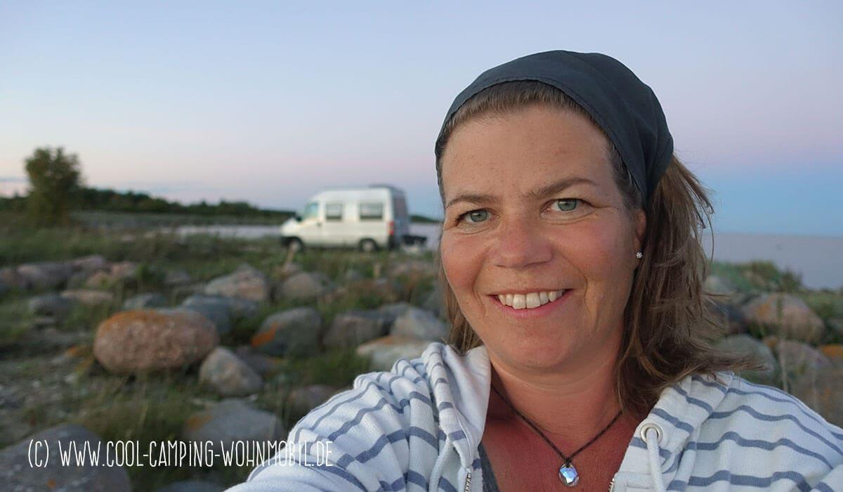 Susanne und ihr Burow Kastenwagen