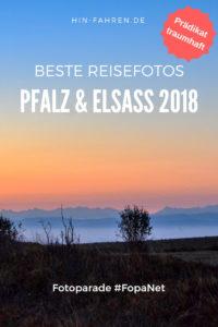 Schönste Wohnmobil-Reisefotos 2018 Pfalz & Elsass: Traumhaft schön. Blogparade FopaNet: Wohnmobiltouren Vogesen & Südpfalz. #Reisefotos #Pfalz #Elsass #Wohnmobil #Wohnmobiltouren #FopaNet