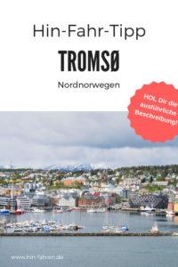 Wohnmobiltour Norwegen: Stadtbummel Tromsø - Tor zur Arktis. Campingplatz, Eismeerkathedrale & Holzhäuser #Wohnmobil #Stadtbummel #Eismeerkathedrale #Norwegen #Tromsö #Campingplatz