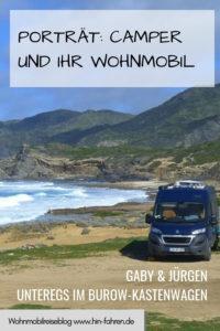 Camper & ihr Wohnmobil: Gaby & Jürgen berichten über ihren Burow-Kastenwagen & ihre Reisen zwischen Norwegen & Marokko.