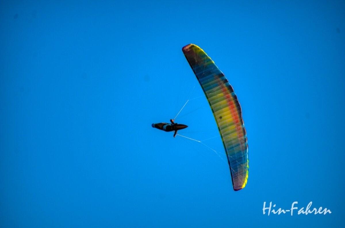 Lieblingsbilder Elsass: Gleitschirmflieger