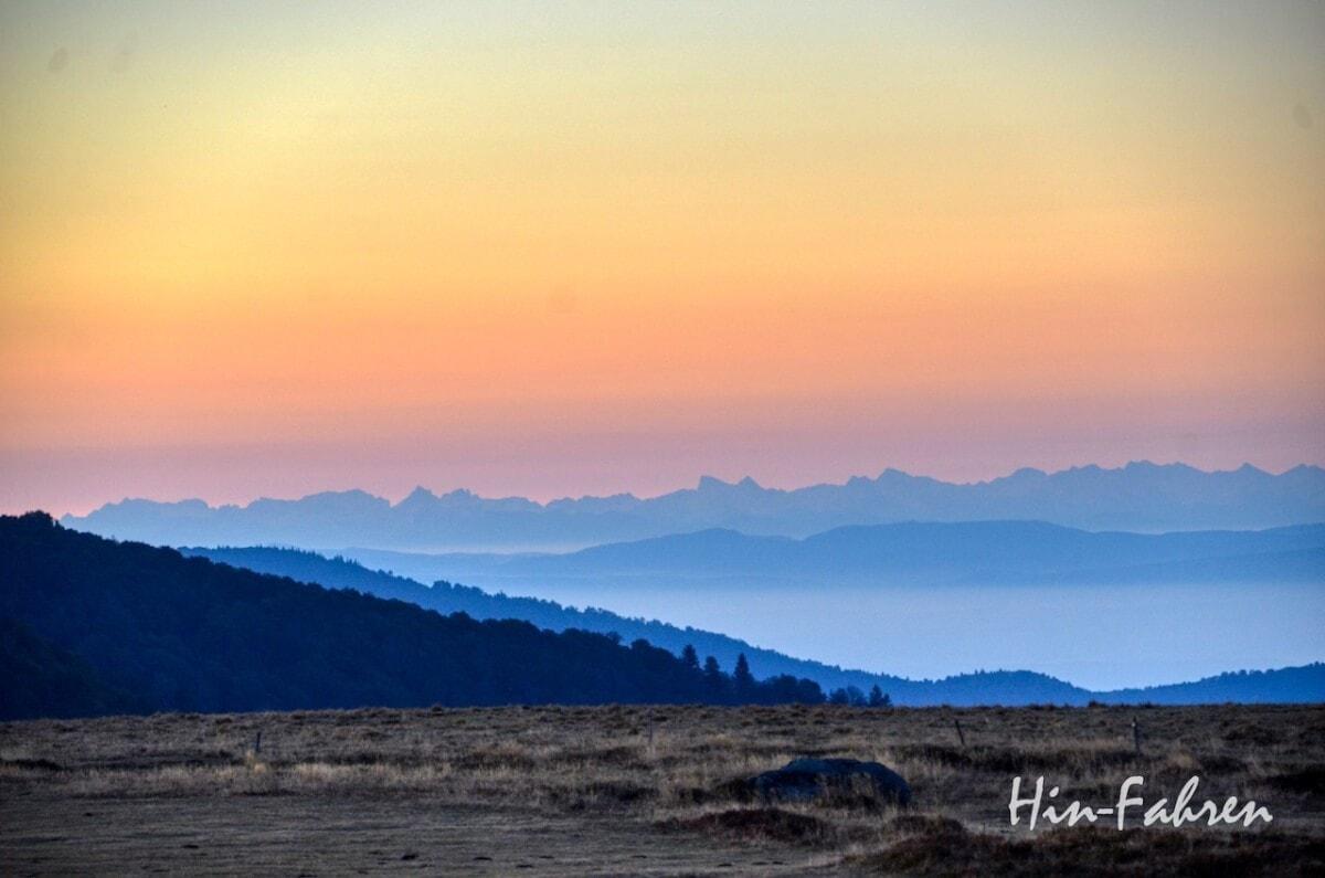 Lieblingsbilder Elsass: Früher Morgen in den Bergen