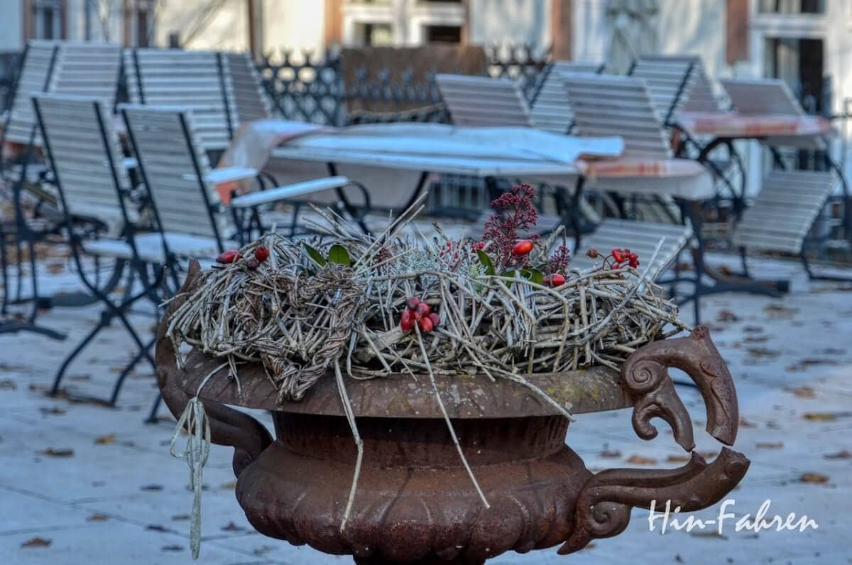Lieblingsbilder Pfalz: Kaputter Blumentopf