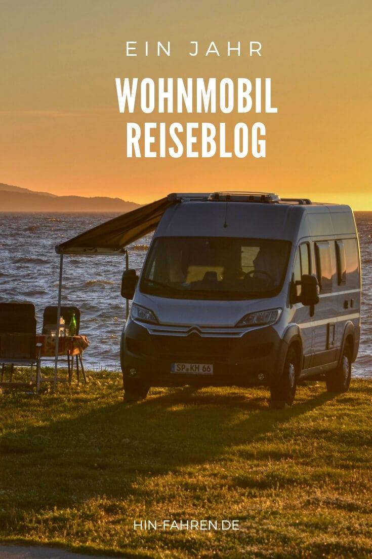 Ein Jahr Wohnmobil-Reiseblog Hin-Fahren: Alltag beim Bloggen. Blick hinter die Kulissen. #Blogger #Bloggen