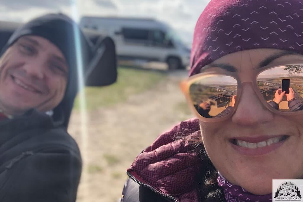 Inzwischen überzeugte Camper: Alexa und Lars und ihr Kastenwagen