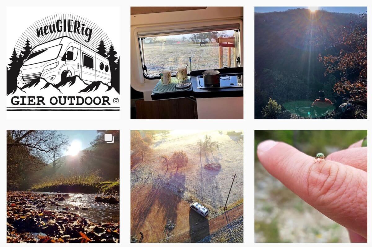 Fotos Kastenwagenfahrer Malibu im Interview auf Instagram