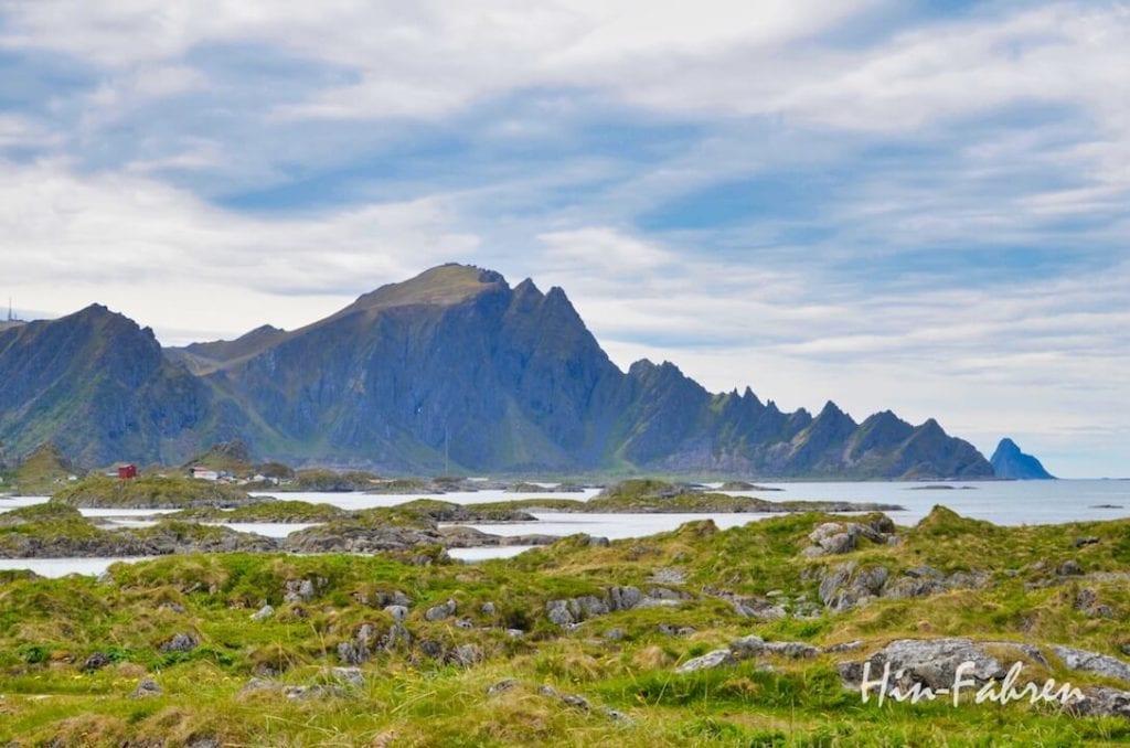 Highlight unserer Fahrt mit dem Wohnmobil durch Norwegen: Die Fahrt auf der Landschaftsrute Andøya
