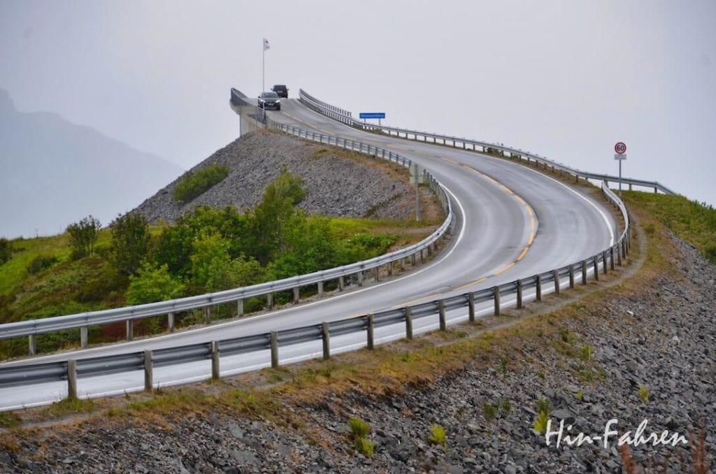 Ein Highlight unserer Reise durch Norwegen ist die Atlantikstraße