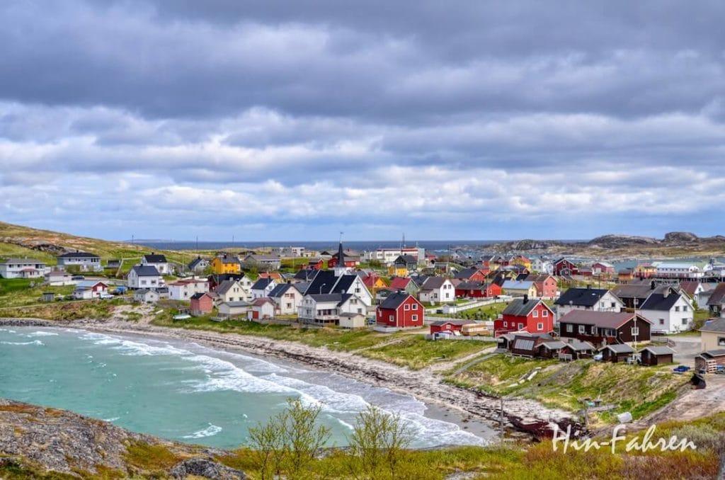 Ein Highlight unserer Norwegenreise mit Wohnmobil war der Besuch in Bugøynes