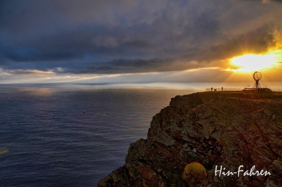 Ziel unserer Reise, vier Wochen durch Norwegen: Das Nordkap