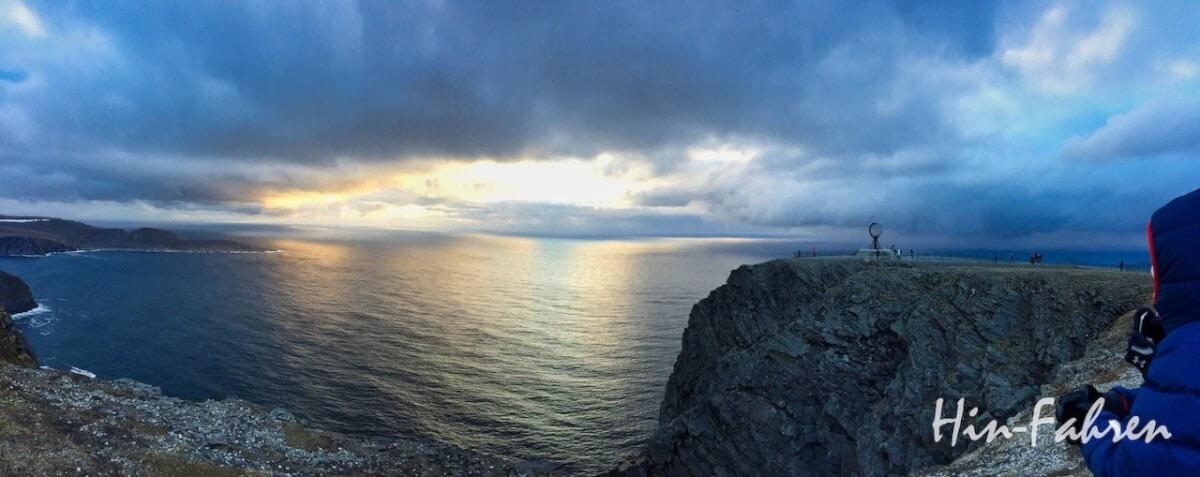 Unser Ziel und Highlight der Norwegenreise: Nordkap