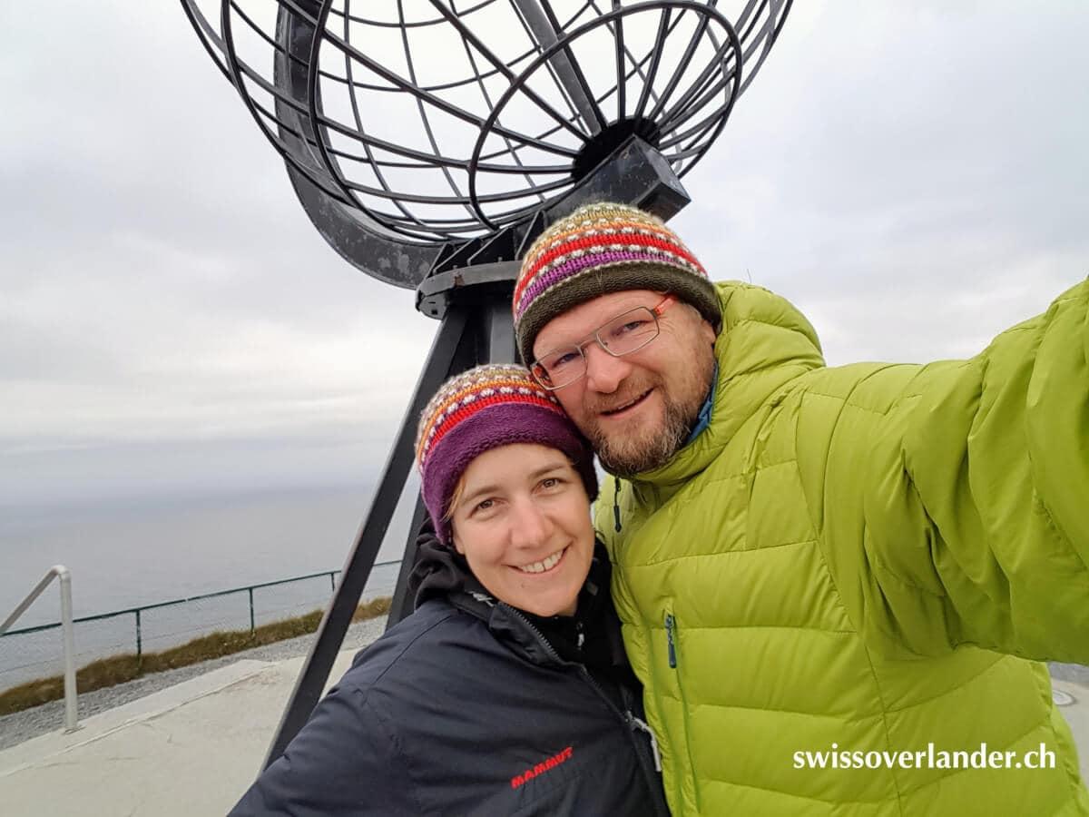 Selfie am Nordkap