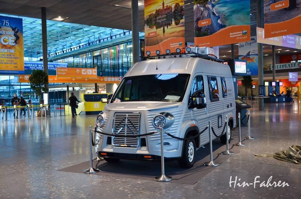 Nostalgie Wohnmobil Kastenwagen auf Citroen vom Pössl