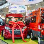 Kastenwagen, innovative Technologien und neue Basis-Fahrzeuge auf dem Vormarsch - vorgestellt auf der CMT 2019