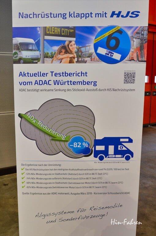 Werbung zum neuen Diesel-Kat zur Nachrüstung für Wohnmobile