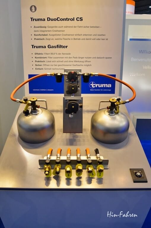 Neue Gasdruckregler und Gasfilter