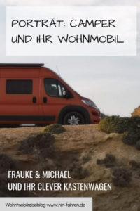Camper-Interview: Frauke und Michael berichten über ihren Clever Kastenwagen und das Reisen mit dem Wohnmobil #Kastenwagen #Clever #Wohnmobil #Fahrzeugwahl