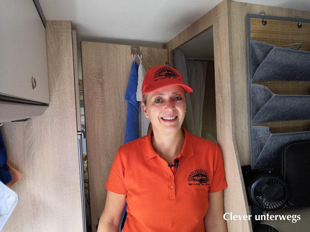 Frauke von Clever unterwegs