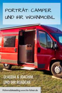 Camper-Interview: Claudia und Joachim berichten über ihren Roadcar Kastenwagen und das Reisen mit dem Wohnmobil #Kastenwagen #Roadcar #Wohnmobil #Fahrzeugwahl #Interview