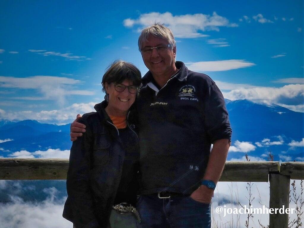 Kastenwagenfahrer Joachim und Claudia