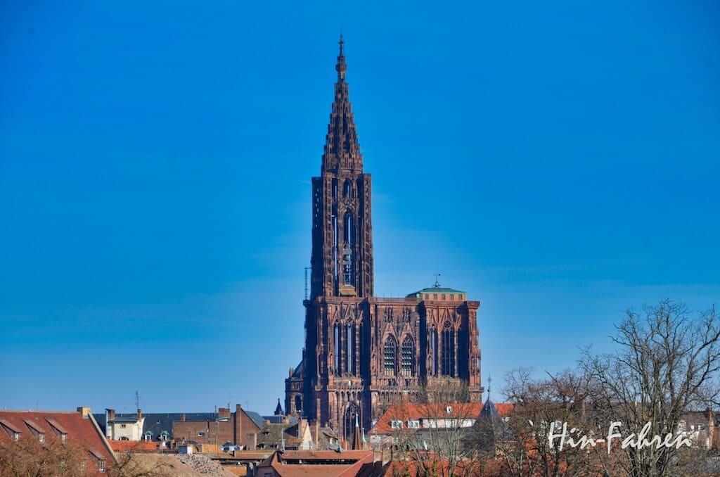 Reisetipp Stadtbesuch Strassburg mit Wohnmobil: Straßburger Münster