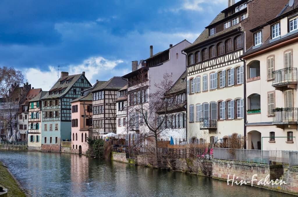 Fachwerkhäuser in der Altstadt von Straßburg