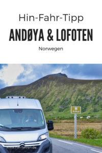Reisetipp Norwegen: Mit dem Wohnmobil auf die Lofoten und über die traumhafte Landschaftsroute Andøya #Wohnmobil #Norwegen #Lofoten #Andøya