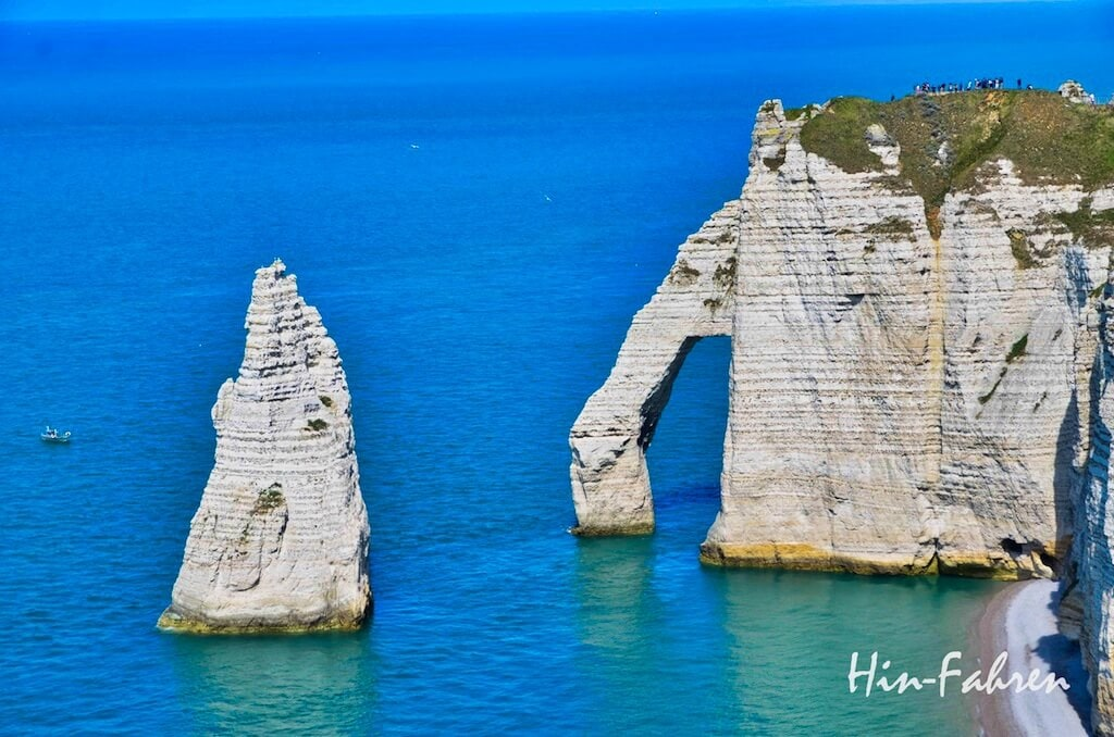 Steilküste und Meer bei Etretat