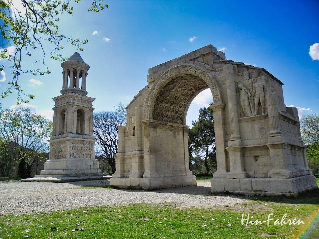 Römische Monumente in Saint Rémy de Provence