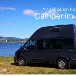 Kasten mit Inhalt: Freiraumfrau Angelika und ihr Ford Nugget