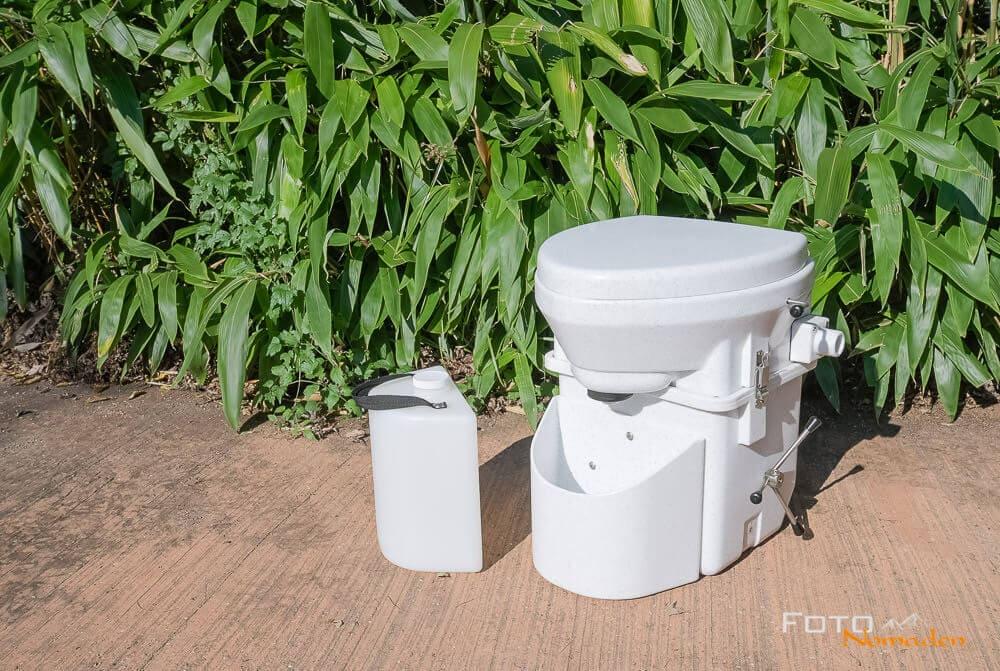 Komposttoilette aus dem Kastenwagen