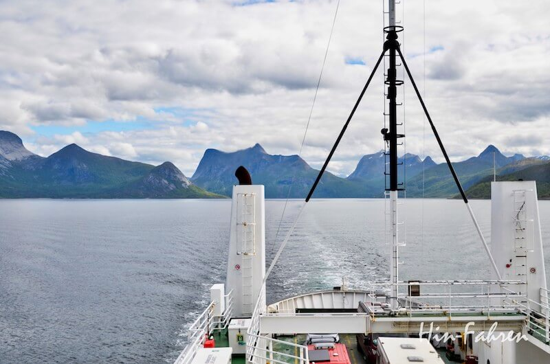 Mit Wohnmobil in Norwegen: Fährfahrt