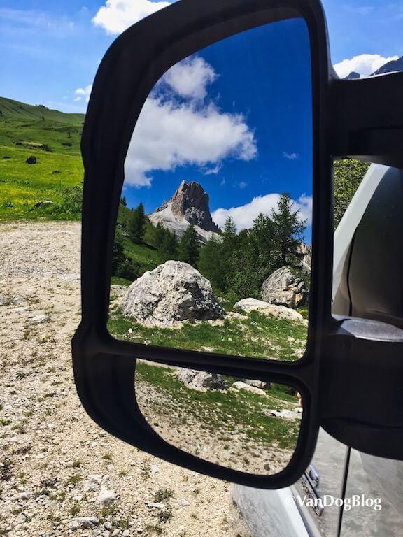 Mit dem Wohnmobil in den Bergen
