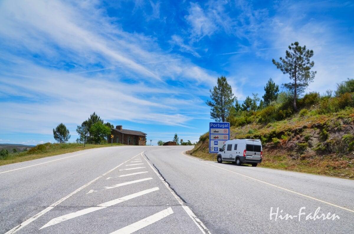 Journalistin, Wohnmobil-Bloggerin & Camperin: Wohnmobil an der Grenze zu Portugal