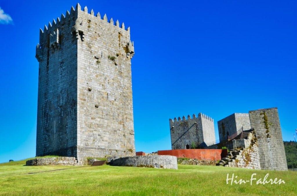 Nordportugal mit Wohnmobil: Burgruine in Portugal