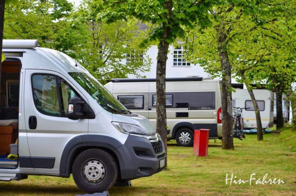Campingplatz in Portugal