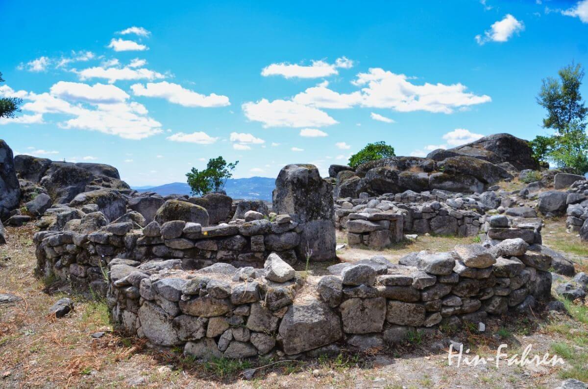 Befestigung aus der Bronze- und Eisenzeit in Portugal