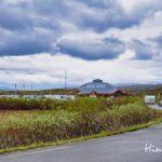 Stellplatz für Wohnmobile am Polarkreis in Norwegen