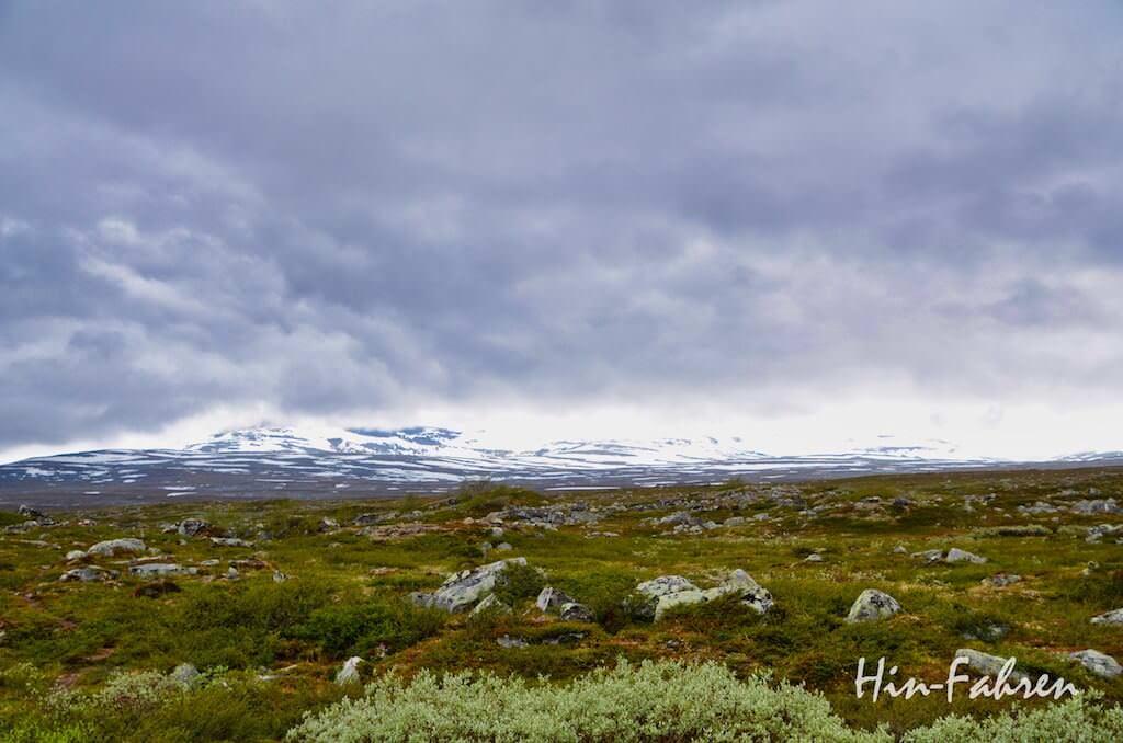 Fjell am Polarkreis in Norwegen
