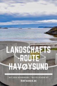 Unbekanntes Norwegen entdecken: Lohnender Abstecher am Nordkap - Landschaftsroute Havøysund am arktischen Meer, Rentiere und das Tor zum Nordkap Honningsvåg #Nordkap #Norwegen #Rundreise #Wohnmobil