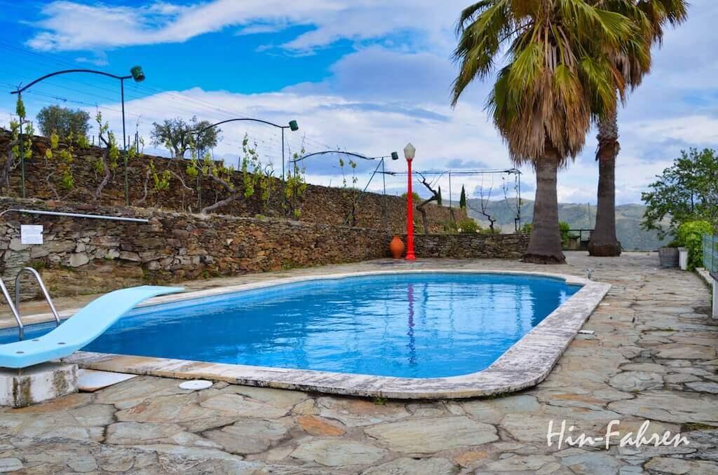 Pool auf der Quinta da Padrela