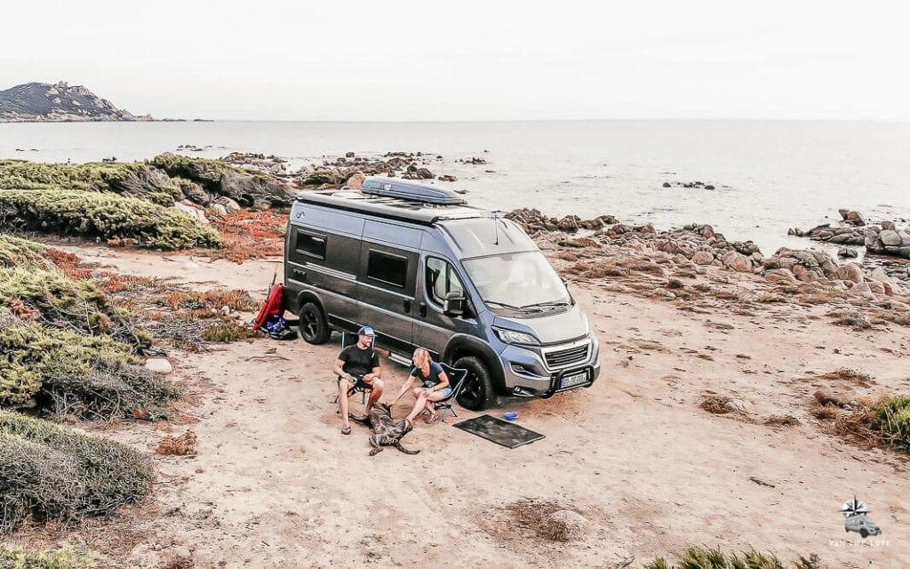 Camping mit dem Kastenwagen-Wohnmobil