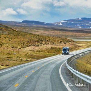 Mit dem Kastenwagen Wohnmobil in Norwegen