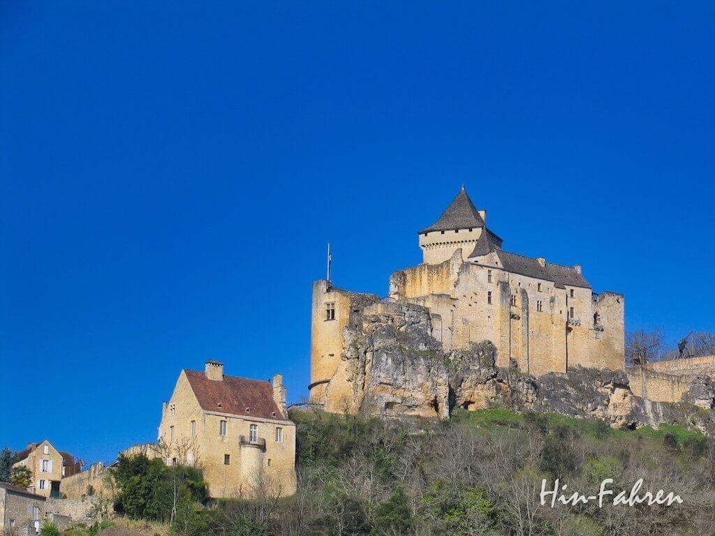 Burg im Perigord in Frankreich