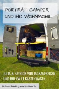 Camper-Interview: Jackaufreisen ist unterwegs im VW LT Kastenwagen #vanlife #wohnmobil #interview